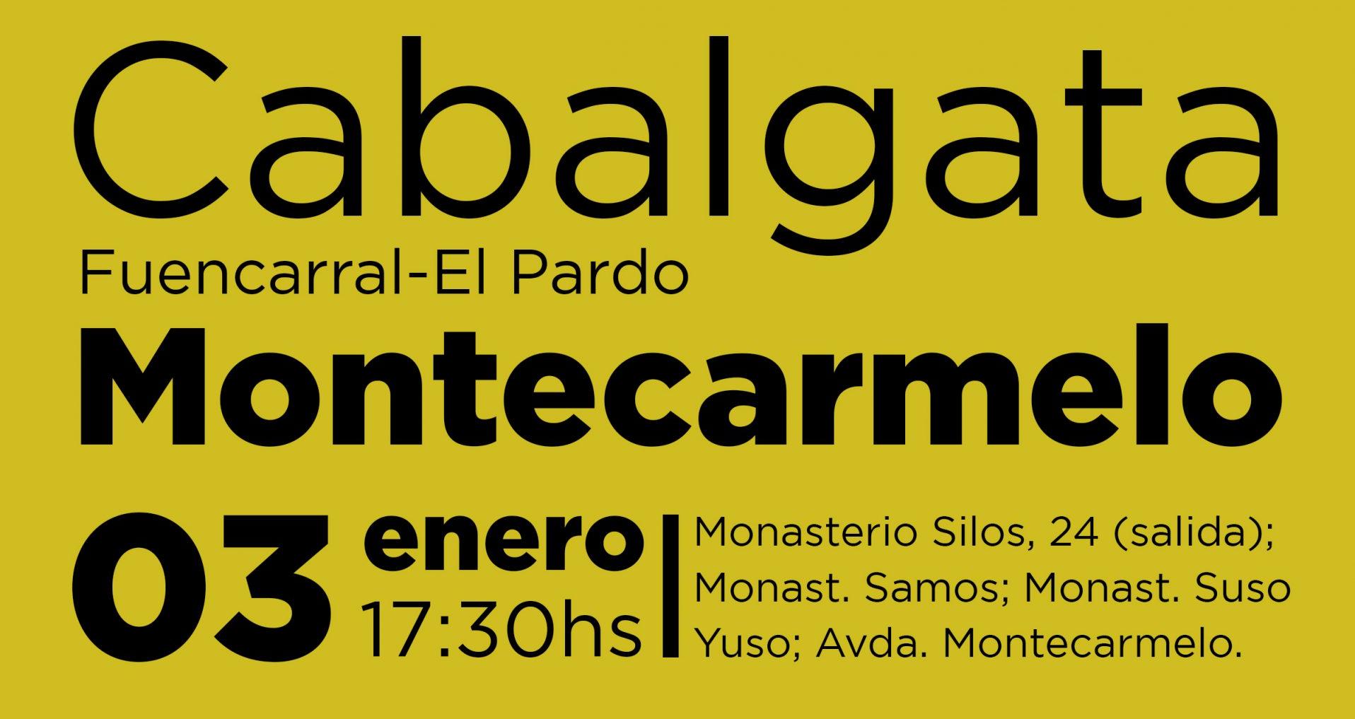 Cabalgata de Reyes 3 enero 2020